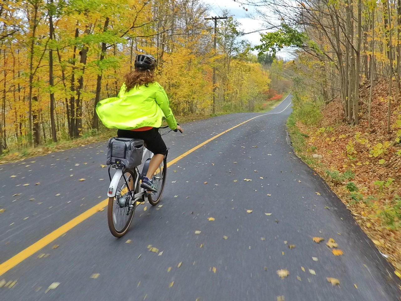 Credit: Howard Calvert, E-bike riding in Halton Region, Ontario