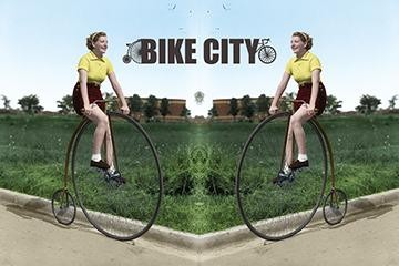 Bike City Exhibit - Market Gallery, St. Lawrence Market, Toronto. On Until November 17.