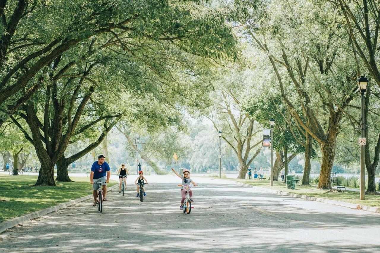 Family-Stratford Cycling