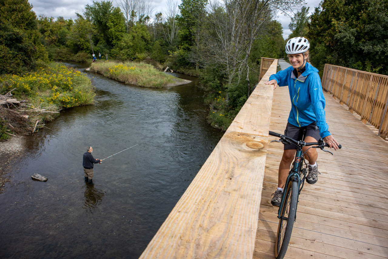 Chipping Away At The Caledon-Lakeside Ride