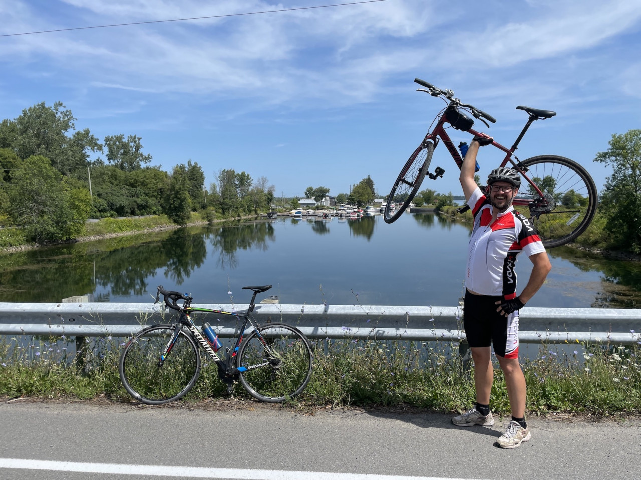 Seeing The Sites of the St. Lawrence By Bike
