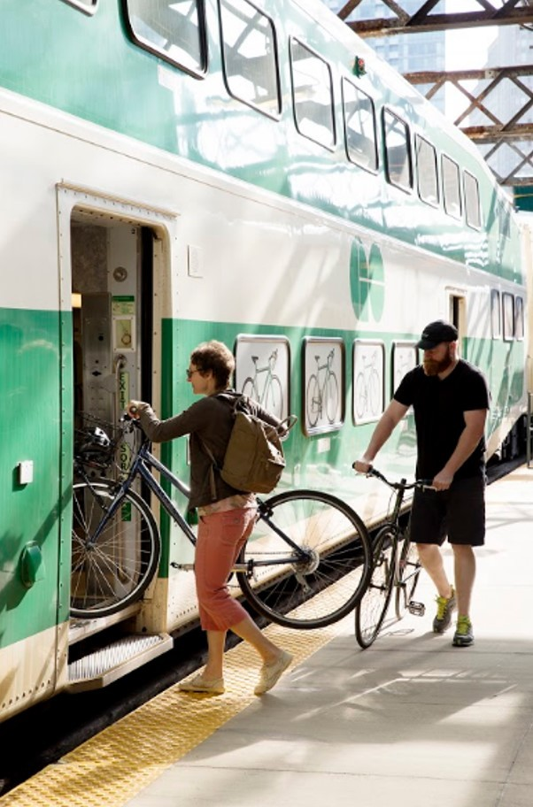 Creating Memorable Cycling Experience using Multi-Modal Travel in Ontario