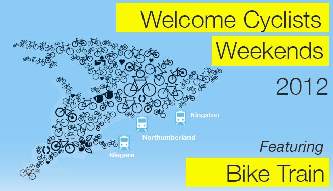 Welcome Cyclists Weekends 2012