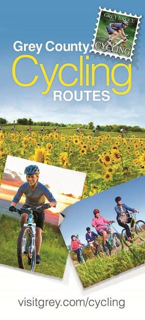 Grey Cycling Map 2014 Cover