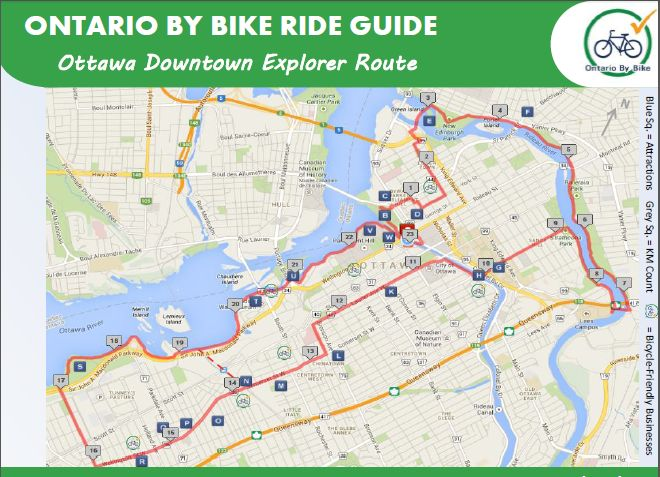 Ride Guide Map Screen Shot