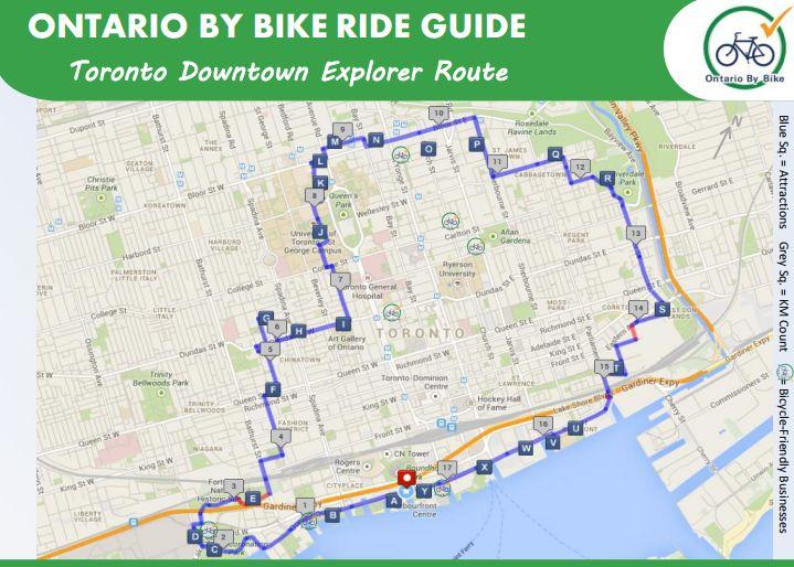 Toronto PDF Ride Guide Graphic