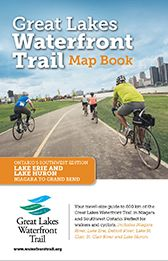 Great Lakes Waterfront Trail Map Book Erie Huron