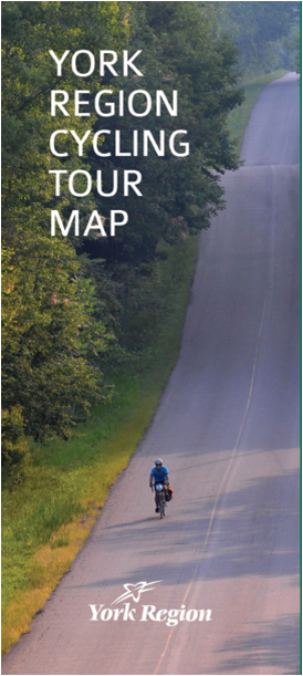 York Region Cycling Tour Map Cover