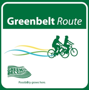 Greenbelt Route Sign
