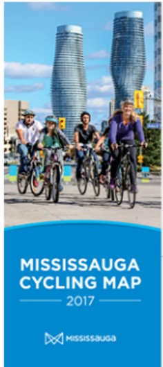 Mississaua Cycling Map