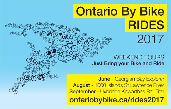 OntarioByBikeRides 2017