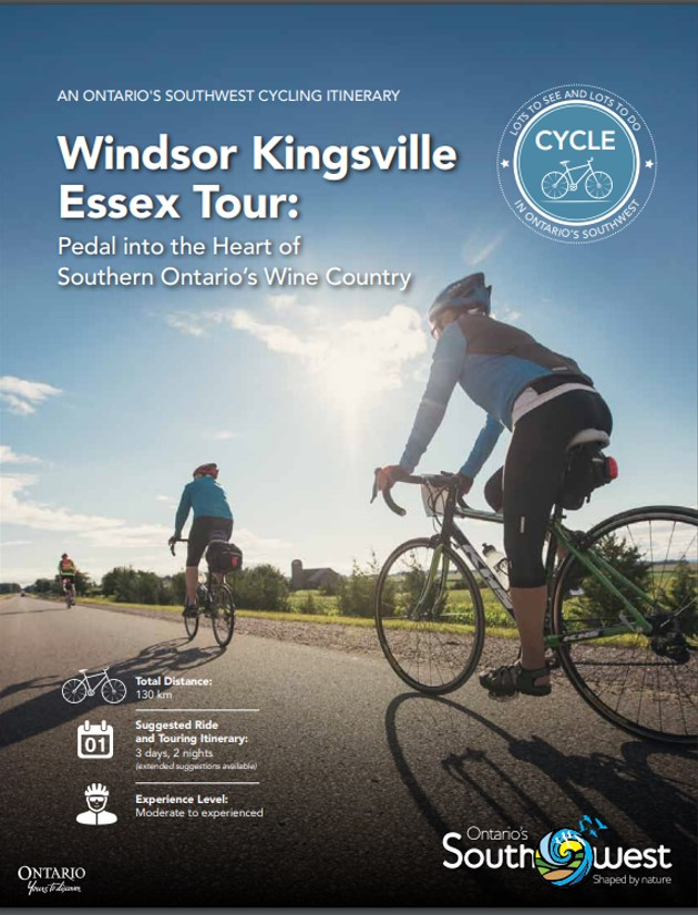 Windsor Kingsville Essex Tour Itinerary