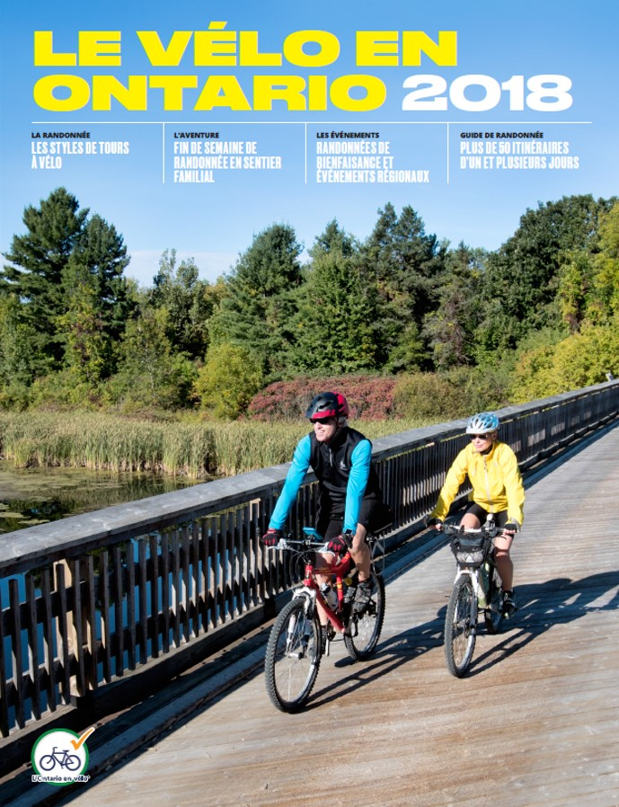 Cycling in Ontario 2018 French Cover