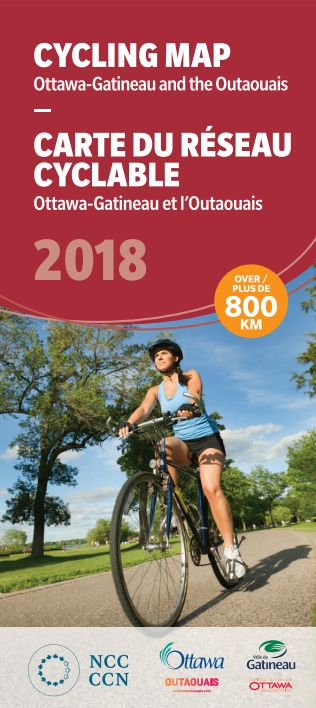 Ottawa Gatineau Cycling Map