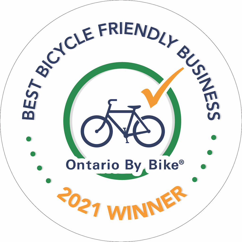 2021 Bicycle Friendly Business Award Logo