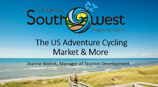 Joanne Wolnik Cycle Tourism Conference 2019