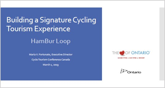 Maria Fortunato Cycle Tourism Conference 2019