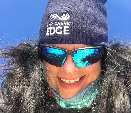 Kate in Explorers Edge hat 1