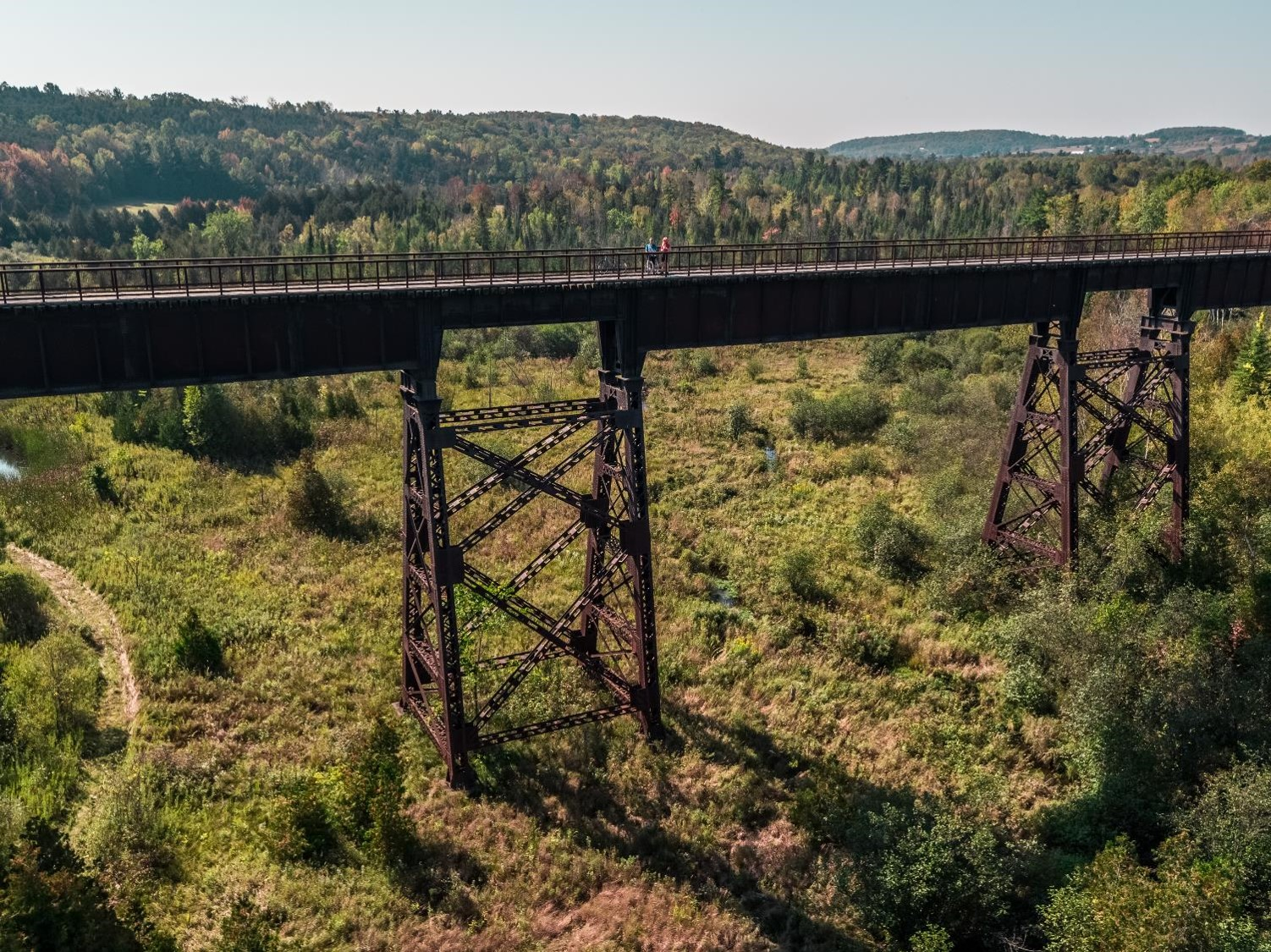 Doubes Trestle Bridge Credit Justen Soule