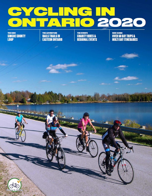 2019 Cycling in Ontario Guide English Cover Reduced