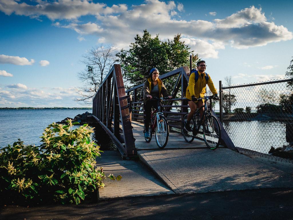 Kingston Waterfront Cycle Bridge