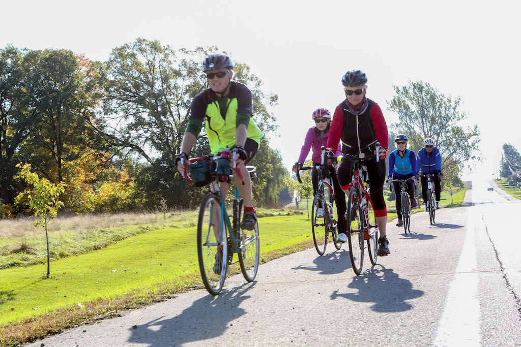 Cycling in Napanee