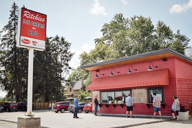 Ritchie's Ice Cream and BBQ