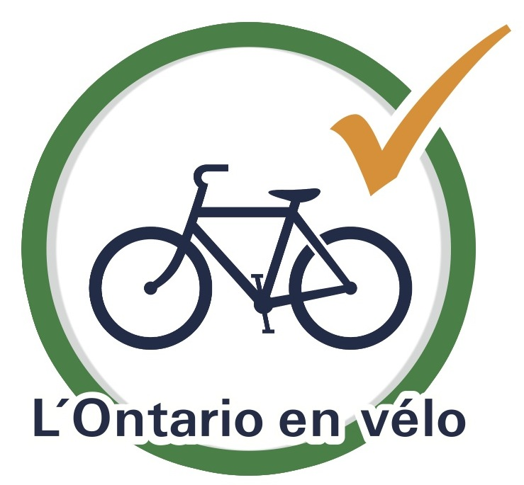French - Ontario By Bike Logo